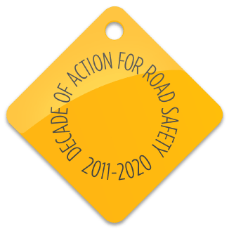 Decade of action for road safety logo 2011 to 2020