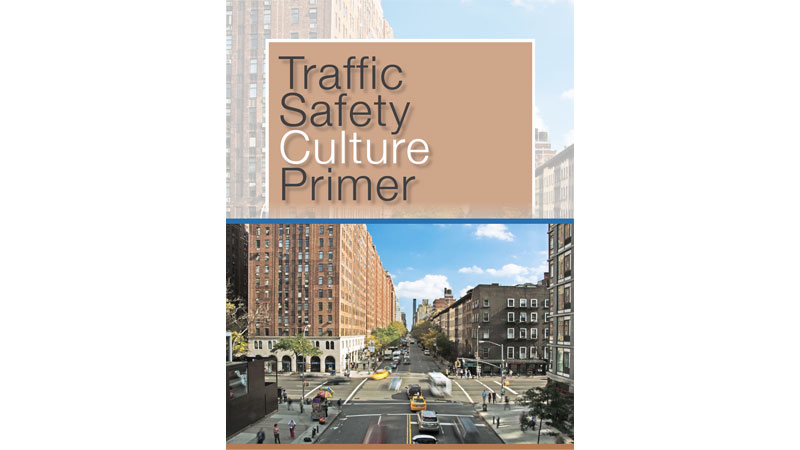 cover of Traffic Safety Culture primer from Montana transportation pooled fund