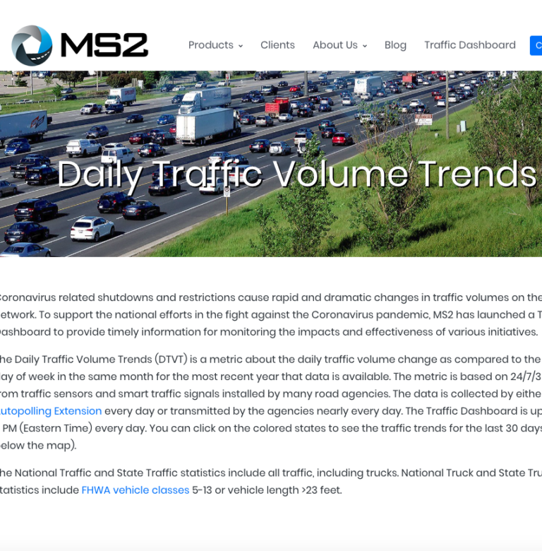 Image for Louisiana Daily Traffic Volume Trends