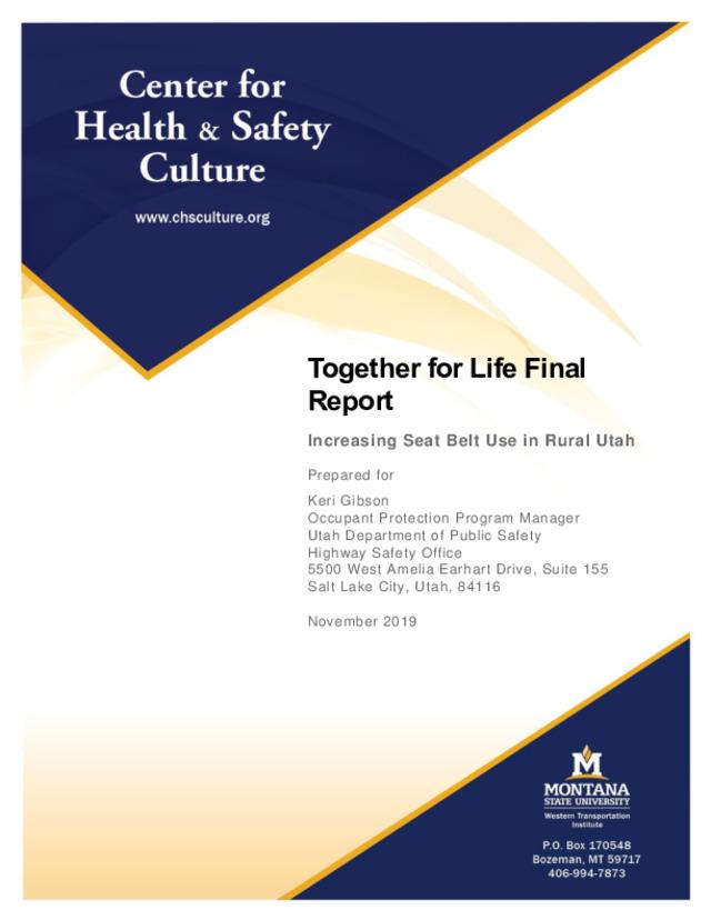 Seat Belt Together for Life