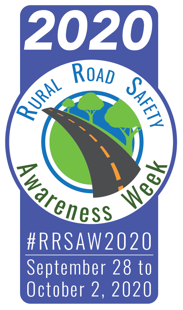 Rural Road Safety Awareness Week banner