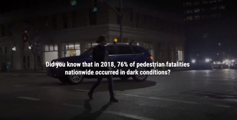 Walking at Night Does Not Have to be Deadly